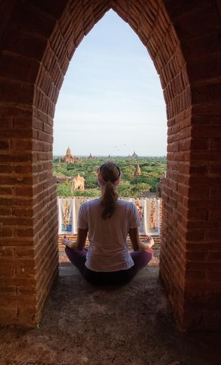 Magical Bagan at sunrise
