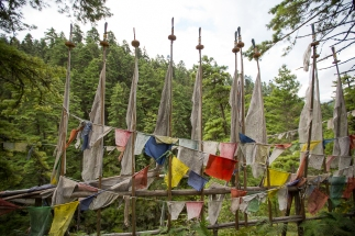 Praying Flags in Bhutan