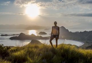 Komodo Island Sunset