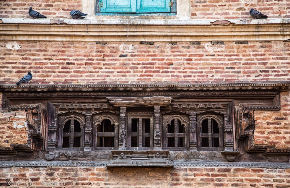 Windows in Bhaktapur