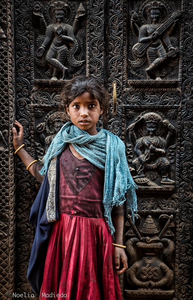 """""""Shelter"""" Name of the Portrait taken of this lovely girl from India."""