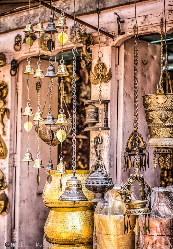 Bazaar in Bhaktapur