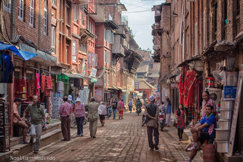 Morning in Bhaktapur Durbar Square