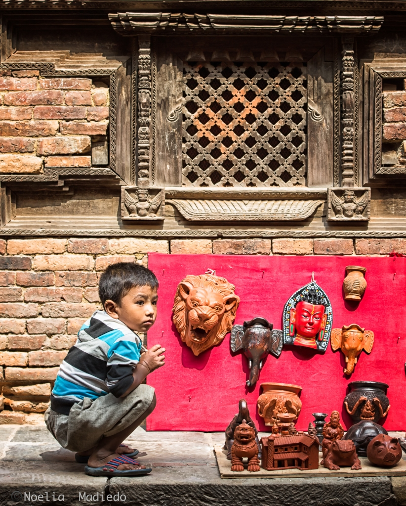 Walking around Bhaktapur