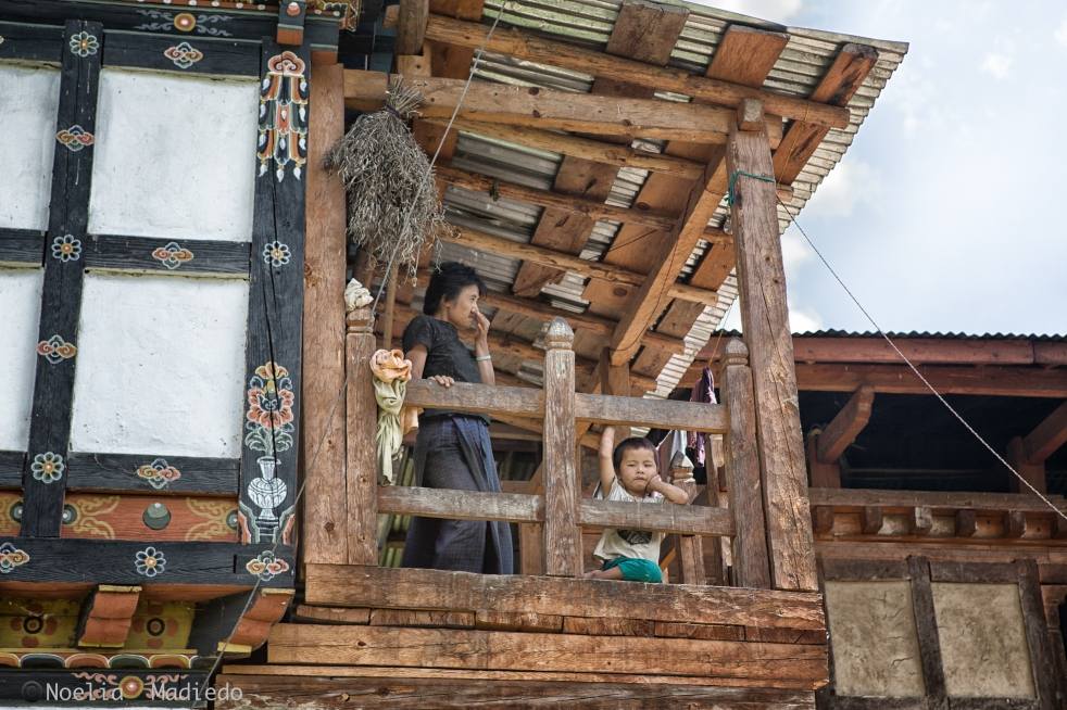 The Village in Punakha, Bhutan