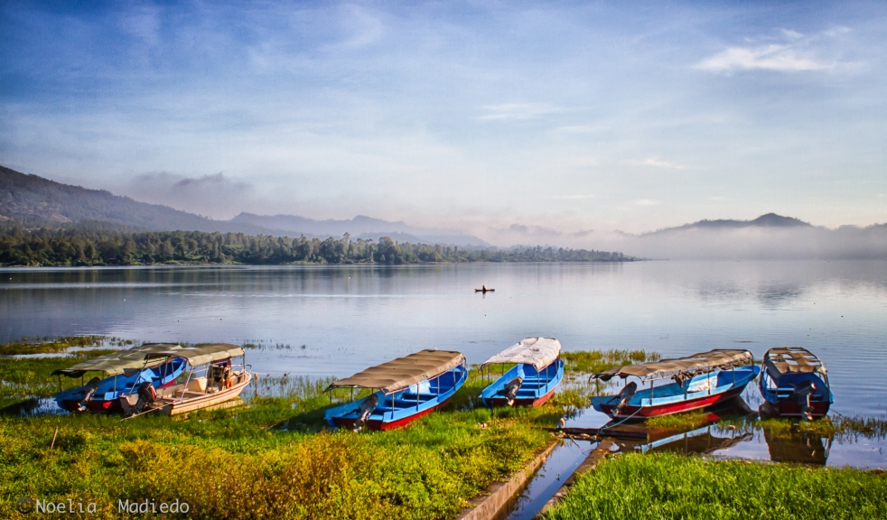 Lake Batur in the Morning