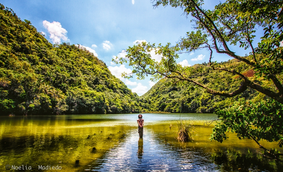 La Laguna del Diablo, Samana, Republica Doiminicana (Latitud: 19° 15' 0 N, Longitud: 69° 16' 60 W)