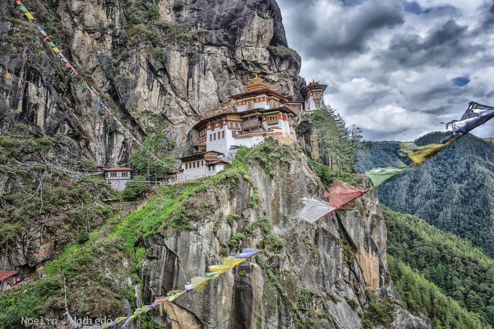 Tiger Nest Buddhist Temple.Paro, Bhutan