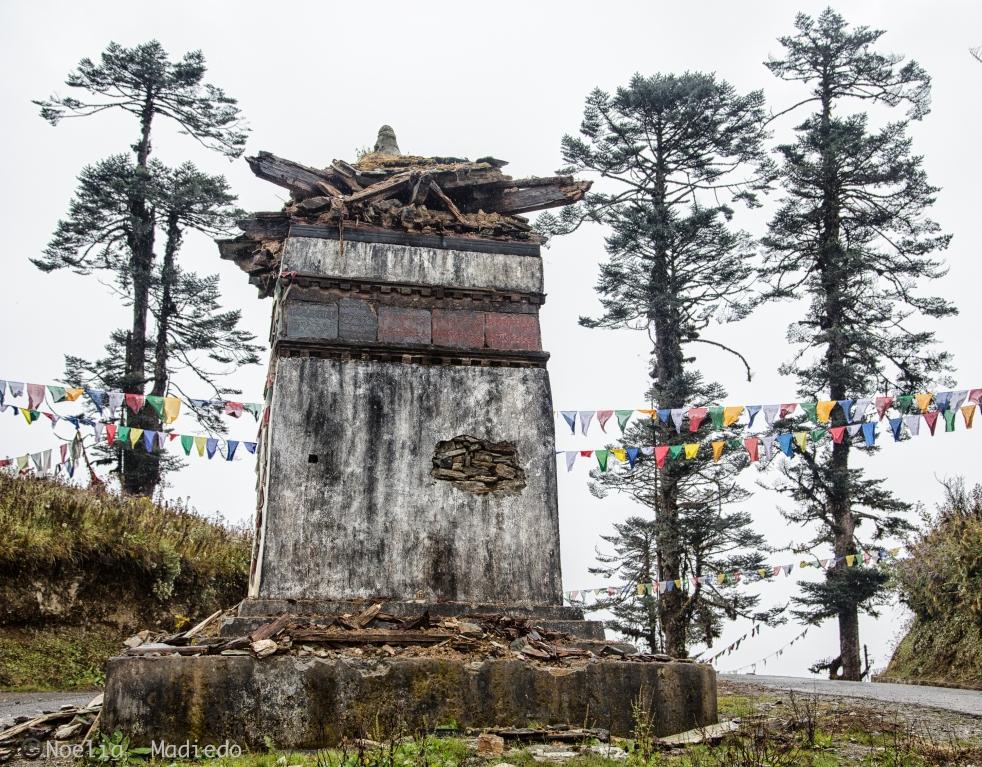 On our way to Bumthang, Bhutan.