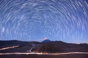 Noelia's Circular Star Trail